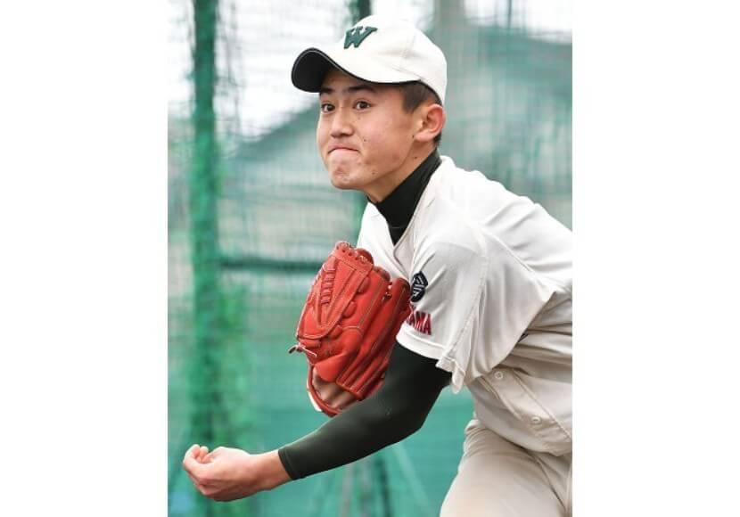 【岩本真之介・市和歌山】多彩な球種で打者を翻弄する新二年生左腕。