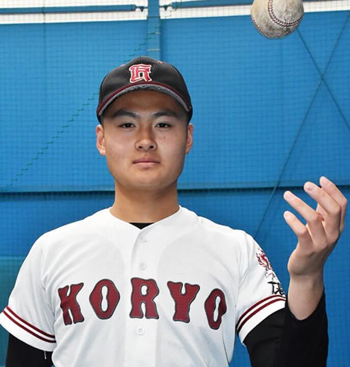 【森勝哉・広陵】名門の大型サウスポー。MAX142kmの直球で打者を翻弄か。