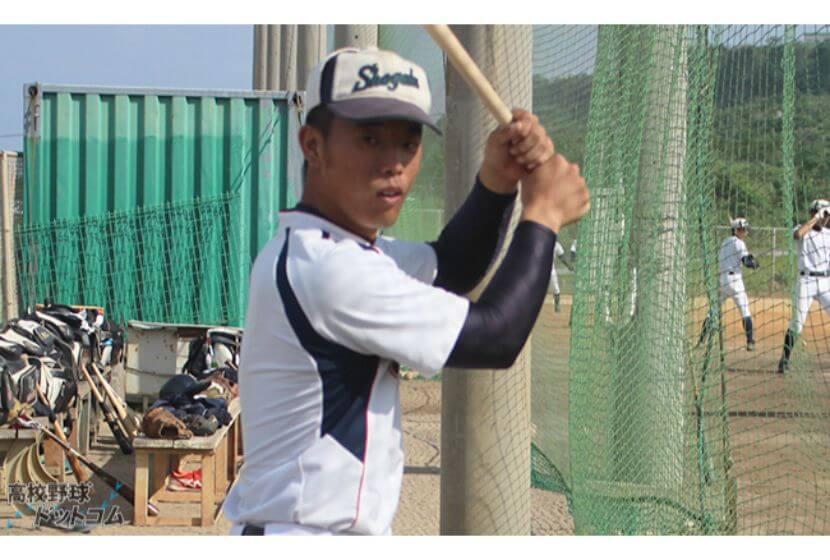 【水谷留佳(沖縄尚学)】中学時代はジャイアンツカップにも出場。主砲の一振りに期待。