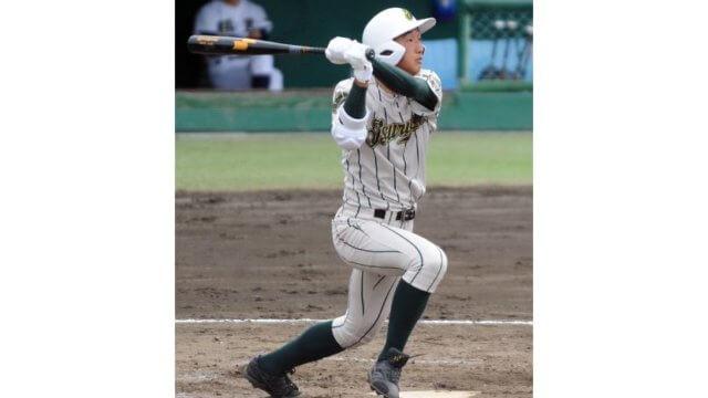 【丸山蓮(鶴岡東高校)】高校通算38本塁打の兄を持つ二刀流に注目。甲子園でも放物線を描くか。
